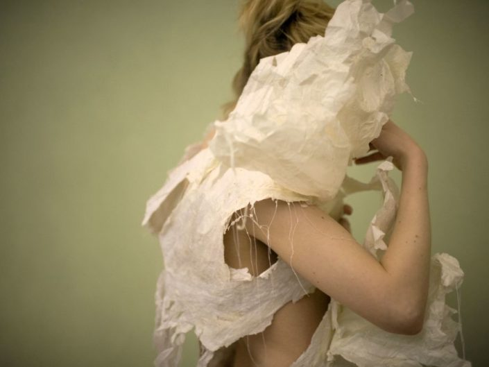 Paper Dress by Veronica Hodges
